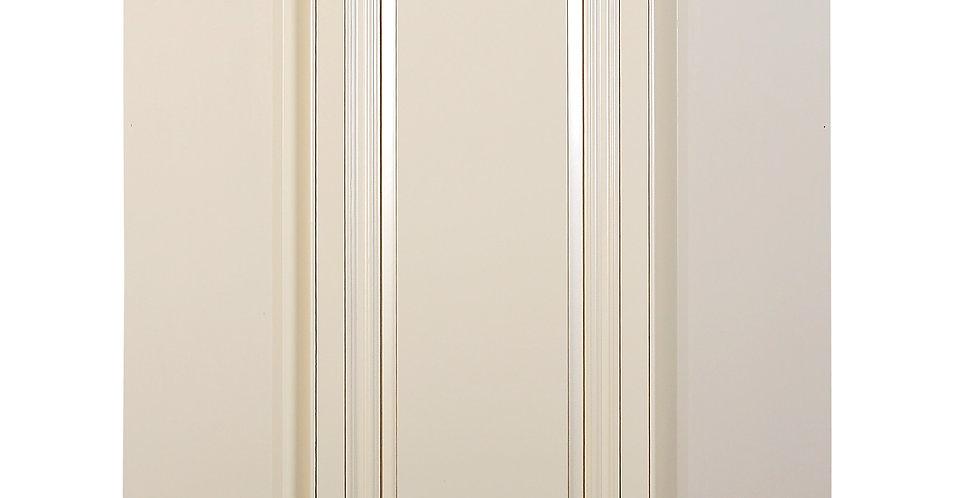 Cream White Wall Diagonal Cabinet
