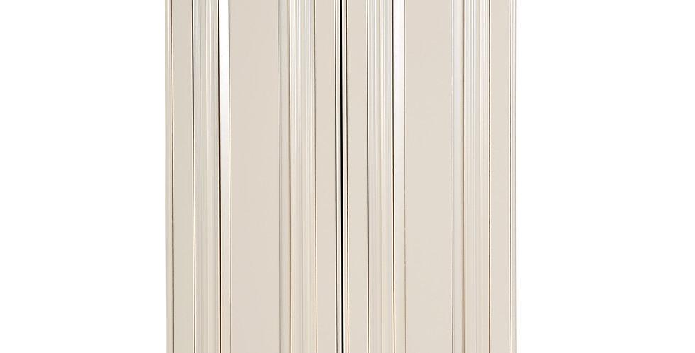 "Cream White Wall Cabinet 12"" Deep 39""H"
