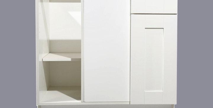 White Shaker Base Blind Cabinet 36-42 L/R