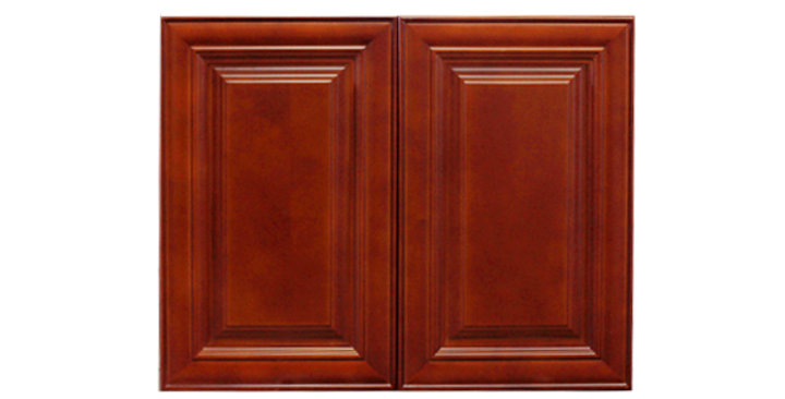 "Cherry Maple Wall Cabinet 24"" Deep 24""H"