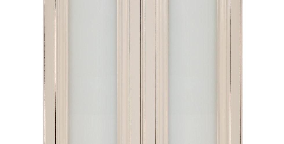 Cream White Glass Door (Two Doors)