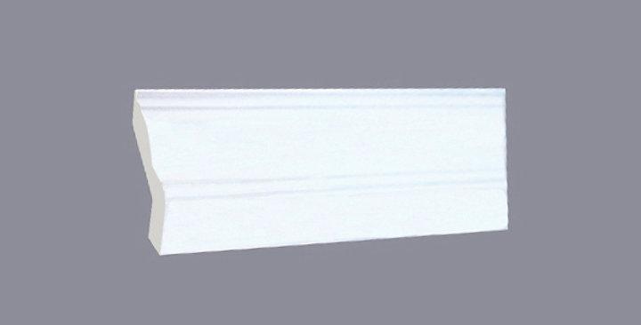 White Shaker Crown Molding