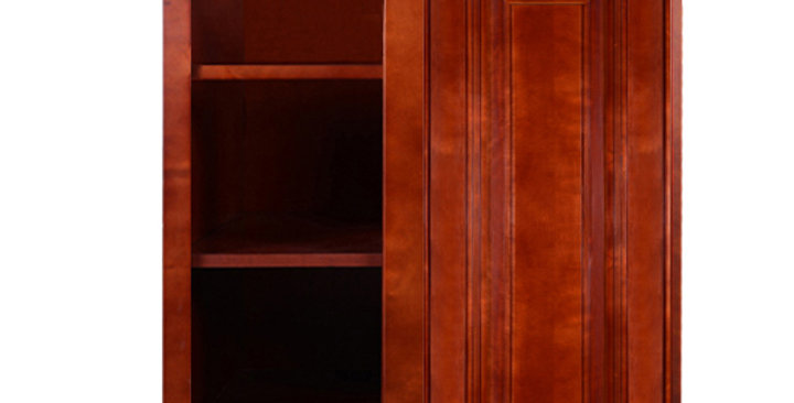 Cherry Maple Wall Blind Corner Cabinet