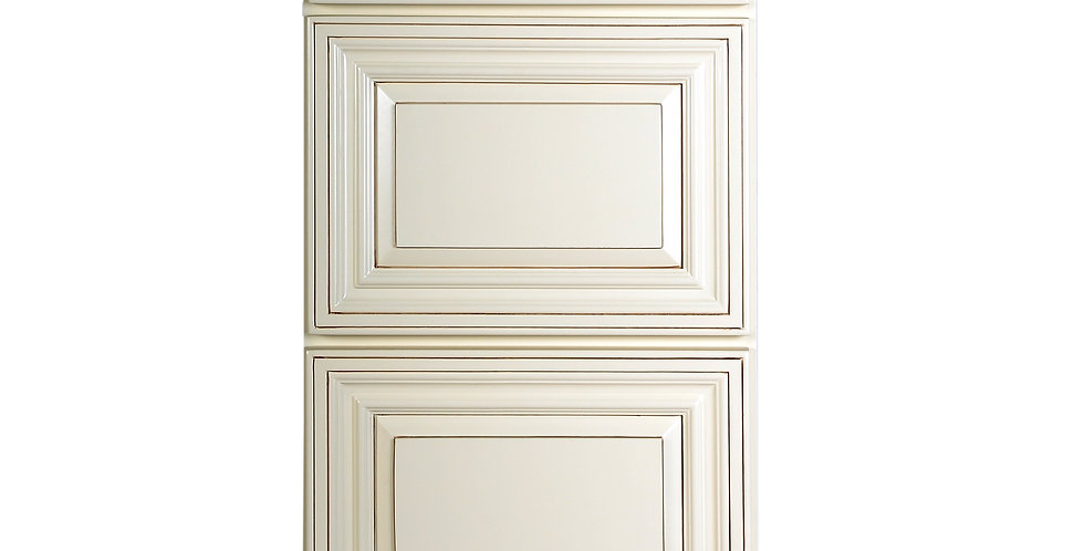 Cream White Drawer Base Cabinet 12-24