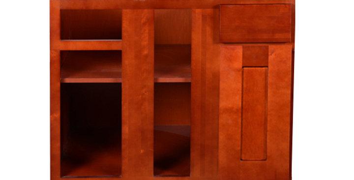 Cherry Shaker Base Blind Cabinet 36-42 L/R