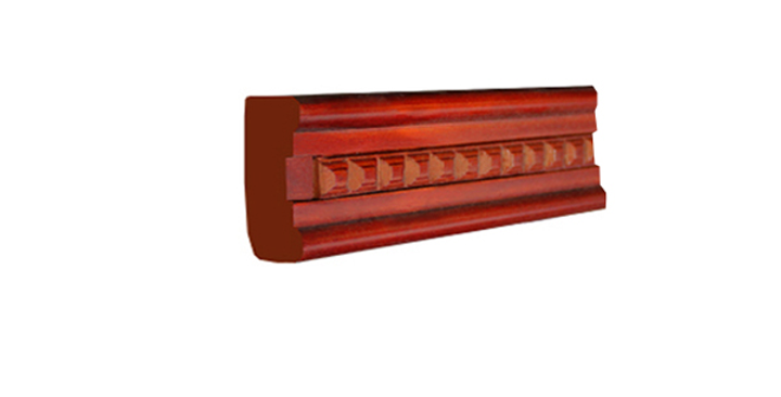 Cherry Shaker Lighting Molding