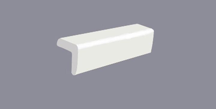 White Shaker Outside Corner Molding