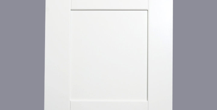 White Shaker Base Dummy Door