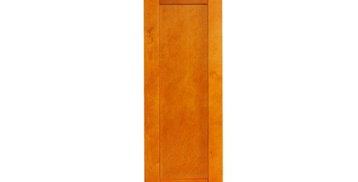 "Honey Spice Single Door Wall Cabinet 12"" Deep 30""H"