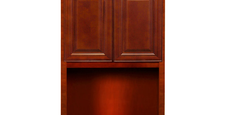 Cherry Maple Wall Microwave Cabinet