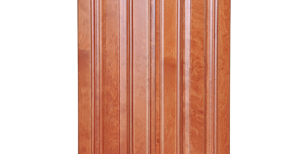 Wine Maple Wall End Cabinet