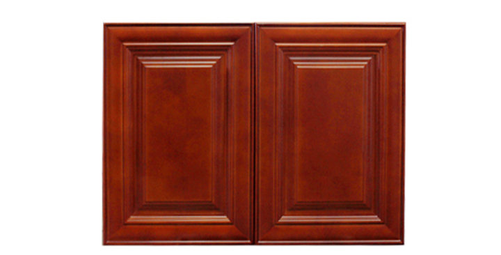 """Cherry Maple Wall Cabinet 12"""" Deep 24""""H"""