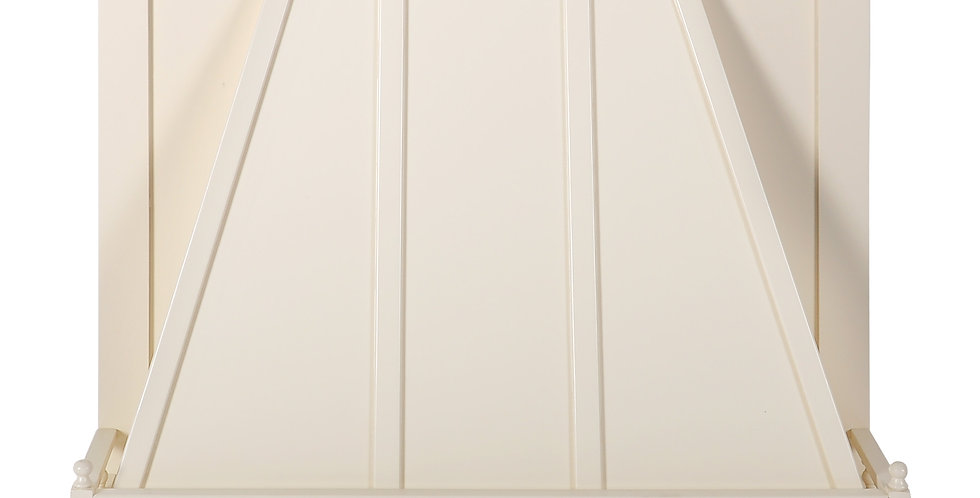 Cream White Wall Hood Front