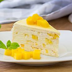 Mango Mille Crepe Cake