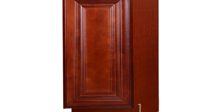 Cherry Maple Base End Angle Cabinet with One Door