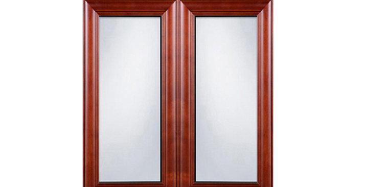 Cherry Maple Glass Door (Two Doors)