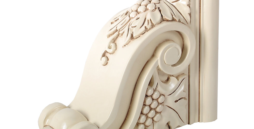 Cream White Corbel