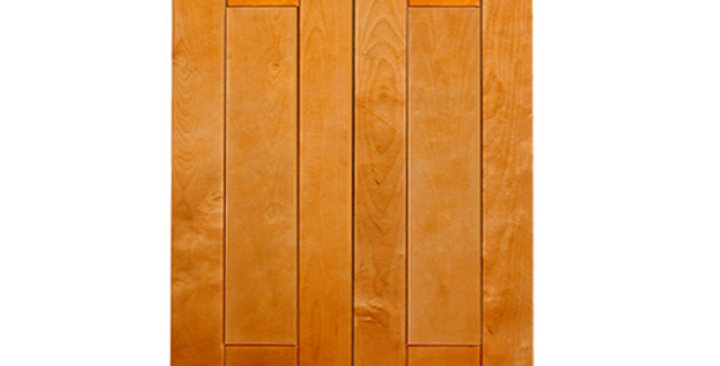 "Honey Spice Wall Cabinet 12"" Deep 30""H"