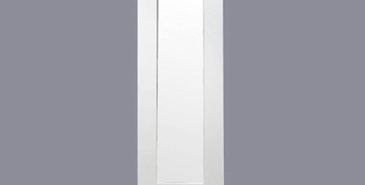 White Shaker Glass Door (Single Door)