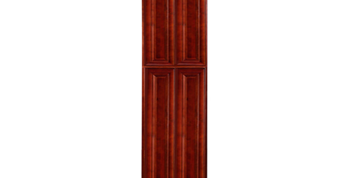 Cherry Maple Pantry Cabinet with Four Doors