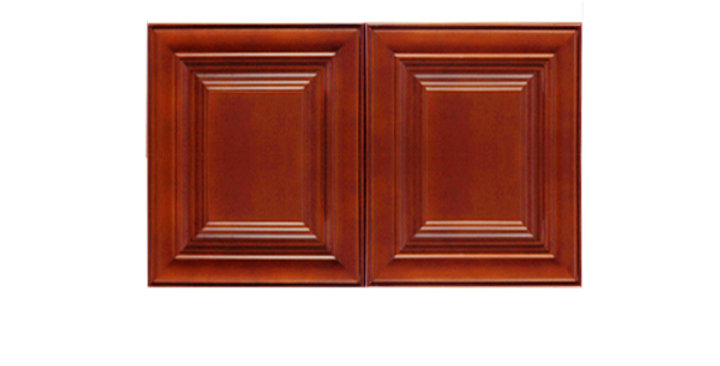 "Cherry Maple Wall Cabinet 12"" Deep 15""H"