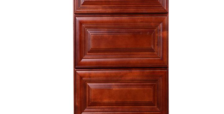 Cherry Maple Drawer Base Cabinet 12-24