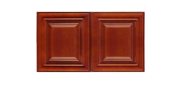 "Cherry Maple Wall Cabinet 24"" Deep 12""H"