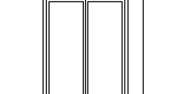 "Luxury Blanco Wall Cabinet 12"" Deep 39""H"