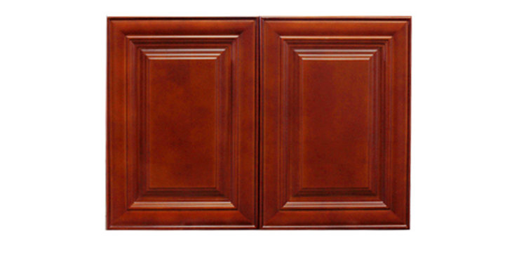 "Cherry Maple Wall Cabinet 24"" Deep 18""H"
