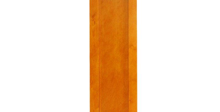 "Honey Spice Single Door Wall Cabinet 12"" Deep 39""H"