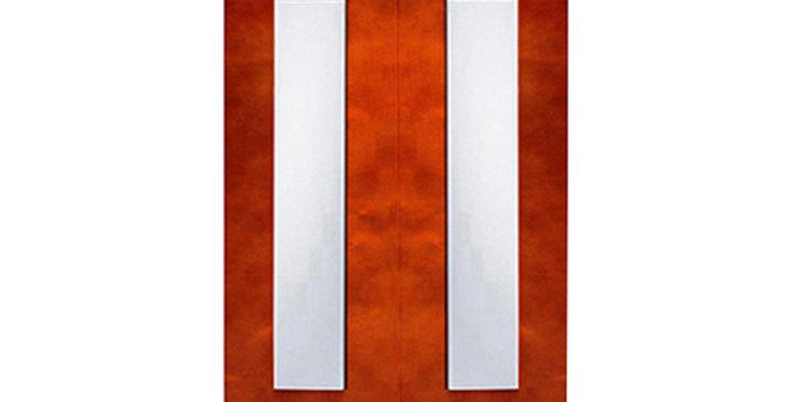 Cherry Shaker Glass Door (Two Doors)