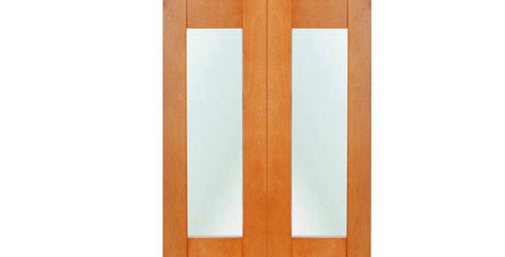 Honey Spice Glass Door (Two Doors)