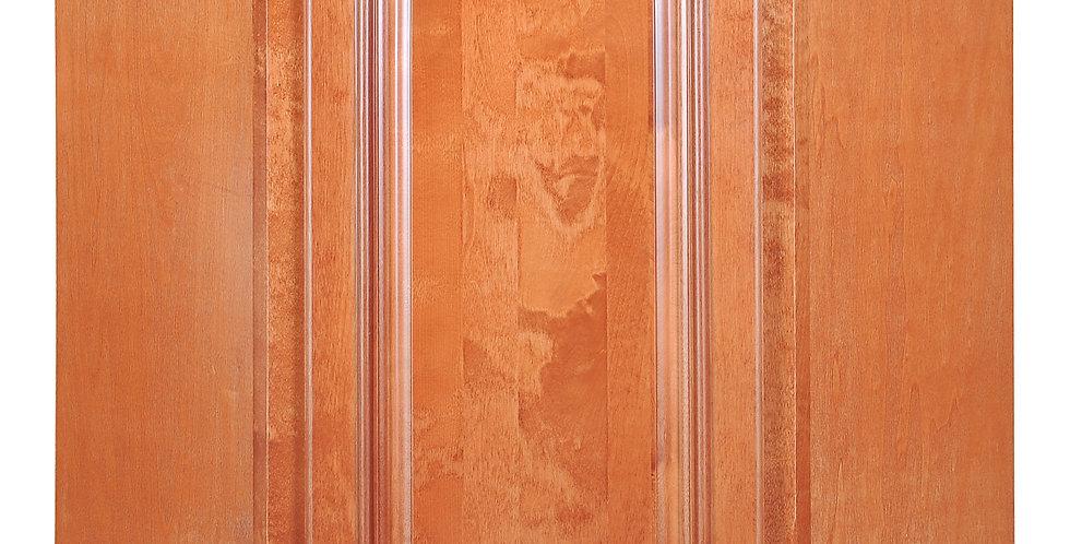 Wine Maple Wall Diagonal Cabinet