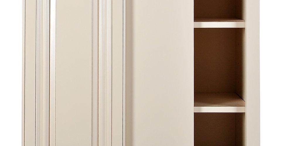 Cream White Wall Blind Corner Cabinet