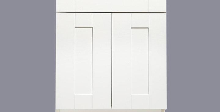White Shaker Base Cabinet 21-30