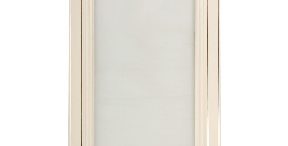 Cream White Glass Door (Single Door)