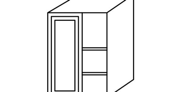 Luxury Blanco Wall Blind Corner Cabinet