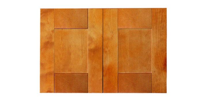 "Honey Spice Wall Cabinet 24"" Deep 18""H"