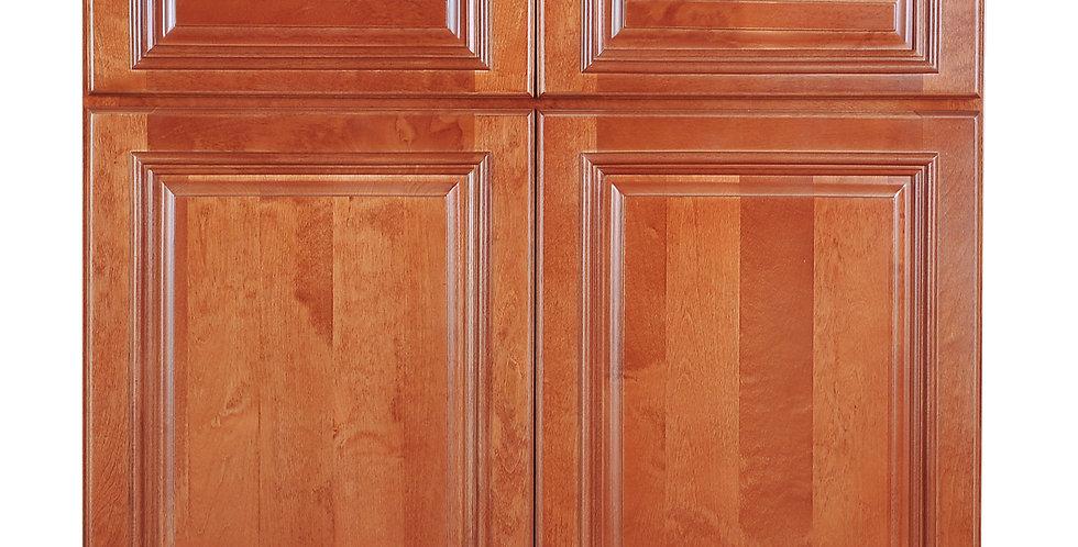 Wine Maple Base Cabinet 33-36