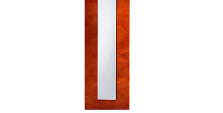 Cherry Shaker Glass Door (Single Door)