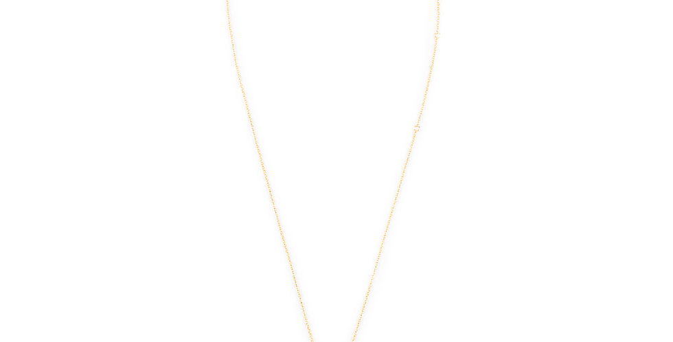 MoonFace Coral Necklace