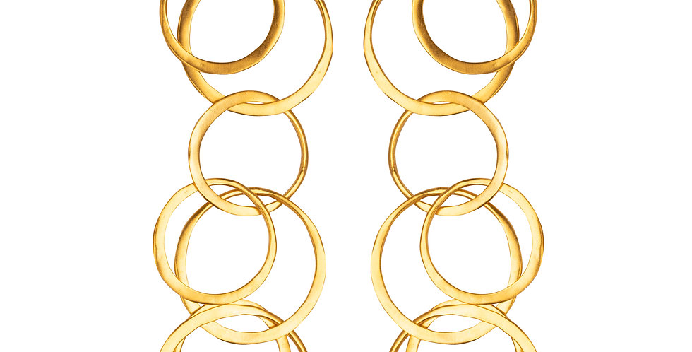 Multicircle Earrings