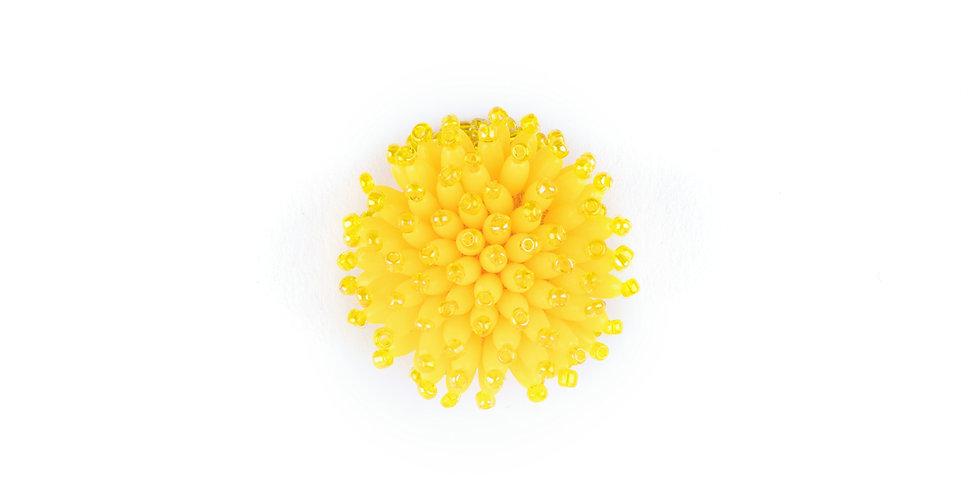 Yellow Anemona Ring