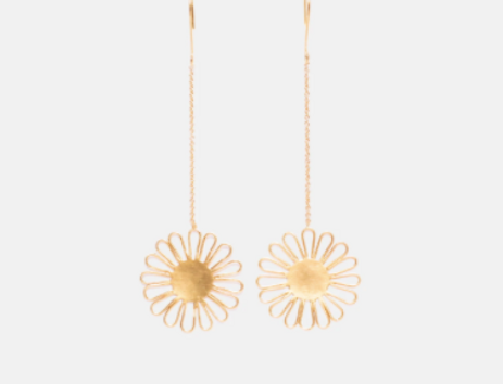 Sun Flower Earring