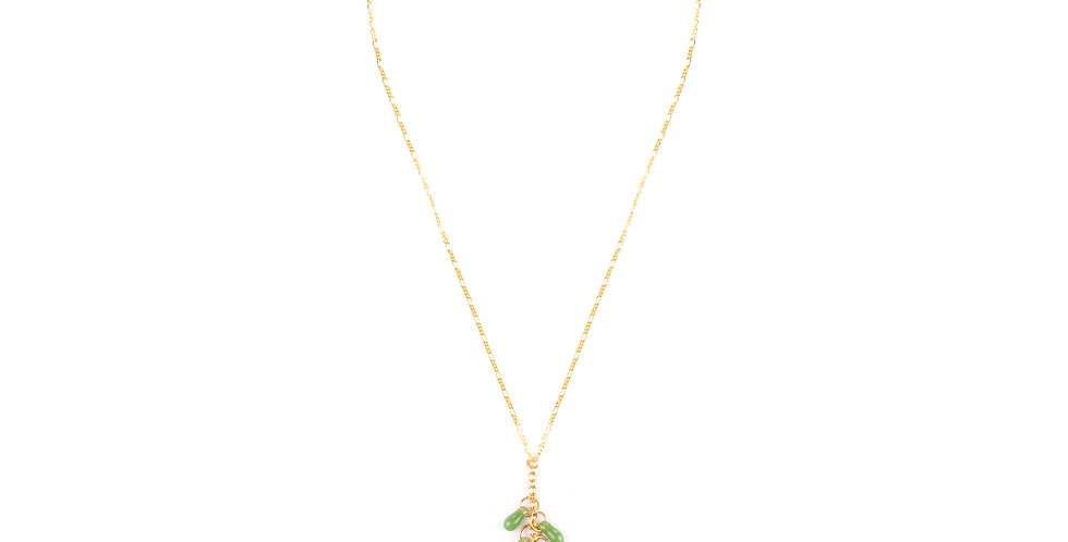Lime Crystal Necklace