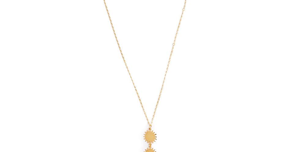 Five Sun Necklace