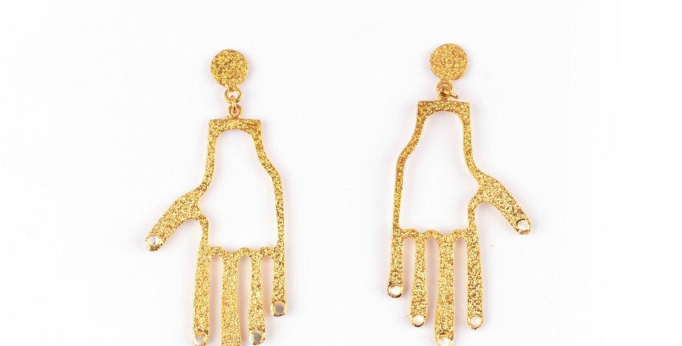 Frida's Hand Earrings