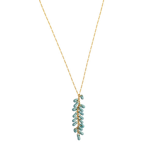 Crystal Turquoise Necklace