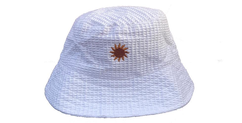 Playa Bucket Hat White