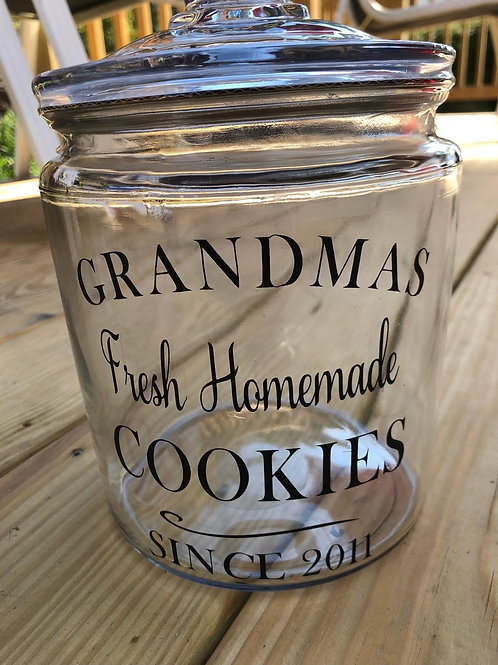 Customized Cookie jar